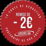 Carte LOISIRS 66 réductions karting Torreilles