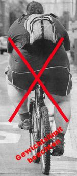 Gewichtslimit bei Carbon Bikes beachten