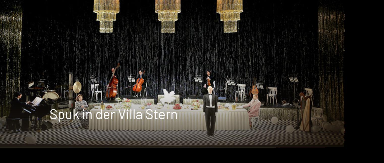 Spuk in der Villa Stern / Theater Basel / Kai Tietje