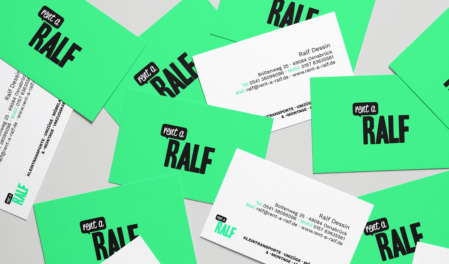 Hingucker Visitenkarten im Corporate Design