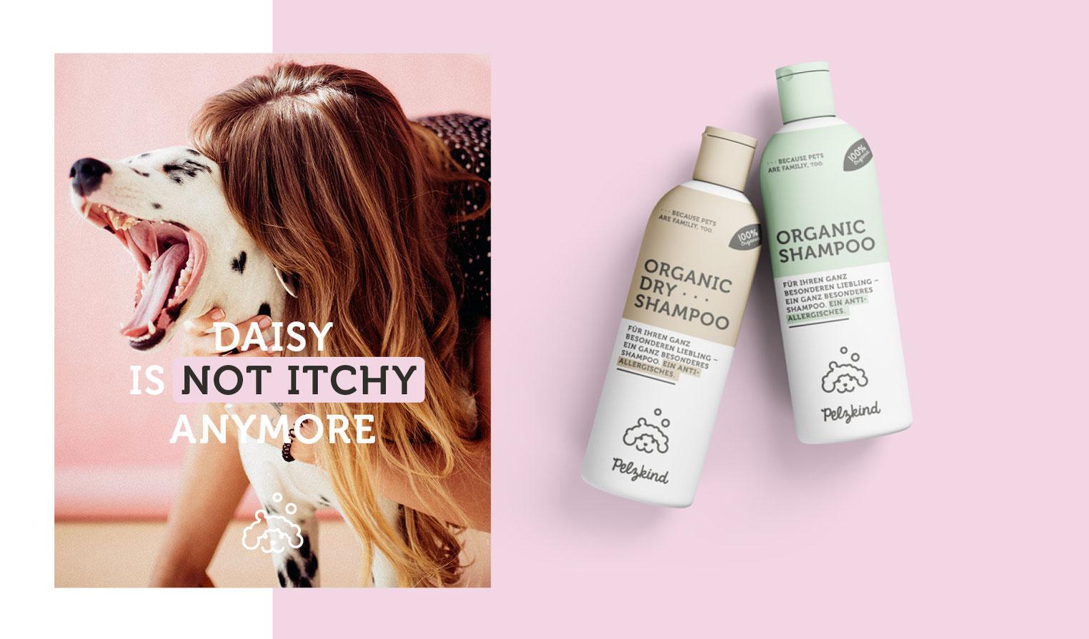 Posting Design Produkt Packaging Dalmatiner allergische Hunde