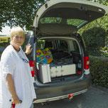 Mobile Zahn Medizin Basel Unterwegs im Auto