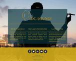 DC-LOUNGE (Entwicklung Konzept, Website, Printmedien)