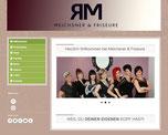 Meichsner & Friseure (Website, Printmedien)