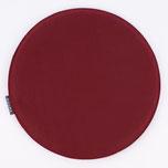 47195-Stuhlkissen-Filz-rund-wein-rot-35x2cm