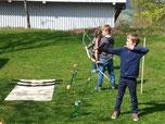 Schule Simonswald, Schulgemeinschaft, Bogenschießen, Qi Gong, Kooperationsspiele