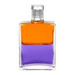Aura-Soma Equilibrium B79 Orange/Violett - Die Vogel-Strauß Flasche