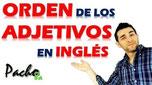 Clave para identificar el orden de los adjetivos en inglés - Muy fácil Pacho8a