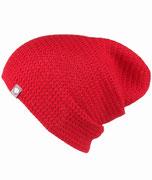 Baby Alpaka Mütze Rot Handgemacht Unisex Häkelmütze