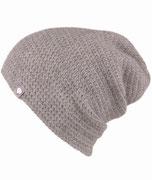 Besondere Mütze Häkelmütze Baby Alpaka Grau Unisex Luxus