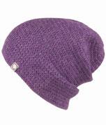 Deluxe Mütze handgemacht in jeder Kopfgröße machbar Lila Baby Alpaka Mütze
