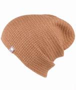 Mütze in Braun Unisex Individualisierbar