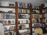 Bibliothek neben dem Soggiorno