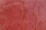 Cuir rouge écailles pour sabots d'été femme à talon