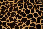 Cuir poil ras girafe pour sabots d'hiver et sabots fermés pour femme