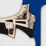 Marina Battistella Senza titolo - cm 100 x 120 - tecnica mista su tela
