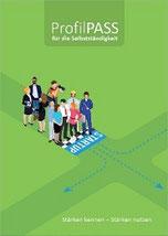 Bild zeigt Workbook ProfilPASS für Selbständigkeit