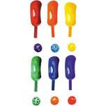 Jeu sportif de scoop, chistera ou pelote basque pour enfant. Matériel sportif de pelote Basque ou Chistera à acheter au meilleur prix.