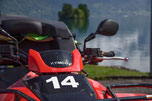 Atv tour mountain and lakes