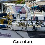 Carentans Altstadt und Hafen sind sehenswert.