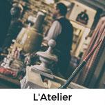 L'Atelier, Cafe und Museum in Carentan, Normandie
