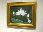 髙橋美紀子「Lotus」F6号 日本画