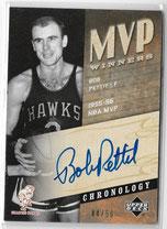 BOB PETTIT / MVP Winners - No. BP  (#d 44/50)