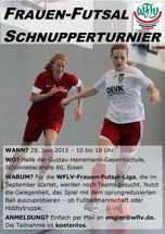 Der Info-Flyer zum Turnier