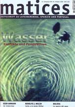 Matices 49: Wasser Konflikte und Perspektiven
