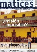 Matices 48: Menschenrechte in Lateinamerika