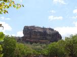 Le rocher de Sigiriya