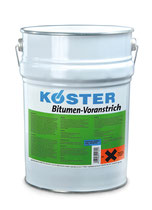 Streich- und spritzbarer, staubbindender, lösungsmittelhaltiger Bitumenvoranstrich