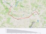 14 km Radfahrt