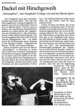 Heimatglied, SZ, 29.3.2001