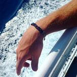bracelet homme cuir fait main tresse