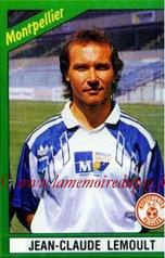 N° 135 - Jean-Claude LEMOULT (1976-86, PSG > 1990-91, Montpellier)