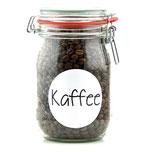 Vorratsglas Kaffee Vorratshaltung Glas Kaffeebehälter