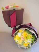 プリザーブドフラワー,花束,両親贈呈