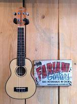 Cascha Sopran-Ukulele, Fichtendecke massiv, Fabiani Guitars, 75365 Calw,  Tübingen, Herrenberg, Sindelfingen, Stuttgart, Pforzheim, Karlsruhe