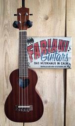 Leho Sopran-Ukulele, Herz Schalloch, Musik Fabiani Guitars 75365 Calw