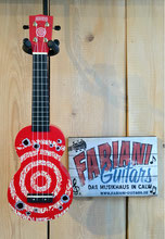 Mahalo MK 1 - Sopran- Ukulele, in Red Rot, lustige witzige Ukulele, Musik Fabiani Guitars, Stuttgart, Pforzheim, Tübingen, Herrenberg, Nagold, 75365 Calw