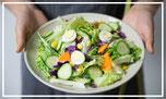 Diet, healthy, salad, cucumber, egg, loosing weight, looking good