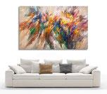 Großformat abstraktes Gemälde