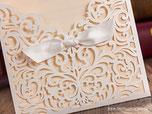 Laser Cut Karten Hochzeitskarten Einladungskarten