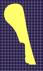 ホルンマウスピース ストークJ6 リム形状