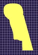 ロメラブラスリム45F26 リム形状