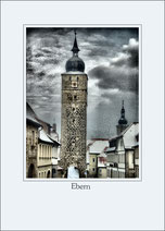 Postkarte Motiv ebern