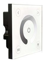 DX-1 - Descripción: Touch Panel de Atenuación, Una Zona. 100-240V CA. DMX 512. Requiere controlador R4-5A o R4-CC. Señal RF hasta 30m - Voltaje de Operación: 100-240V AC
