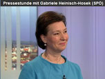 Heinisch-Hosek in der ORF Pressestunde