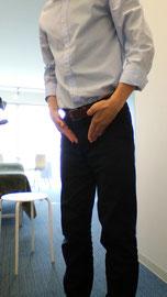 腰痛がひどい奈良県御所市の女性
